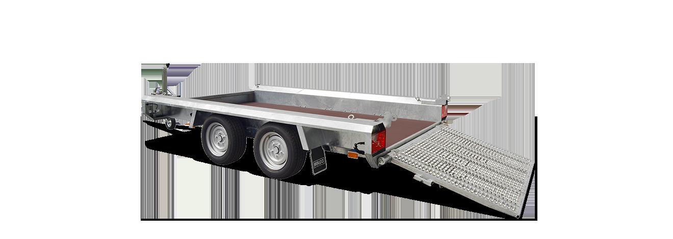Hulco Terrax-Basic tandem machinetransporter